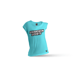 Camiseta firme con mi box Mint - Unbroken Sports Wear