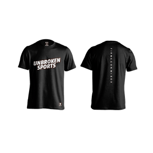 Camiseta firme con mi box Black - Unbroken Sports Wear