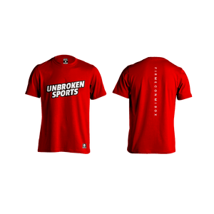 Camiseta firme con mi box Red - Unbroken Sports Wear