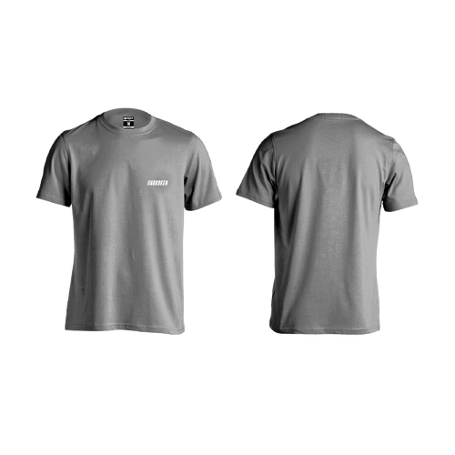 Camiseta Unbroken basic grey - Unbroken Sports Wear
