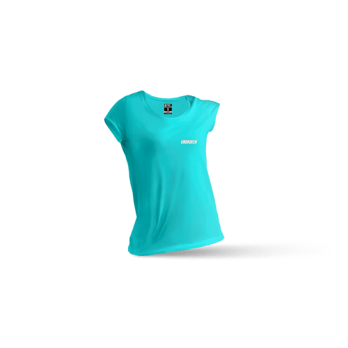 Camiseta Basic Mint mujer - Unbroken Sports Wear