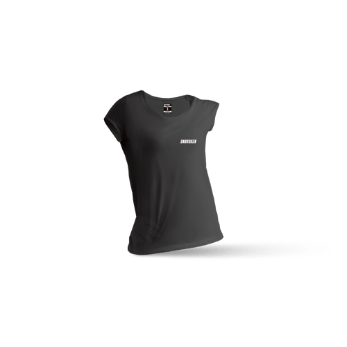 Camiseta Basic Black mujer - Unbroken Sports Wear