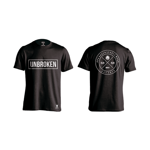 Camiseta Circle black Hombre Unbroken - Unbroken Sports Wear