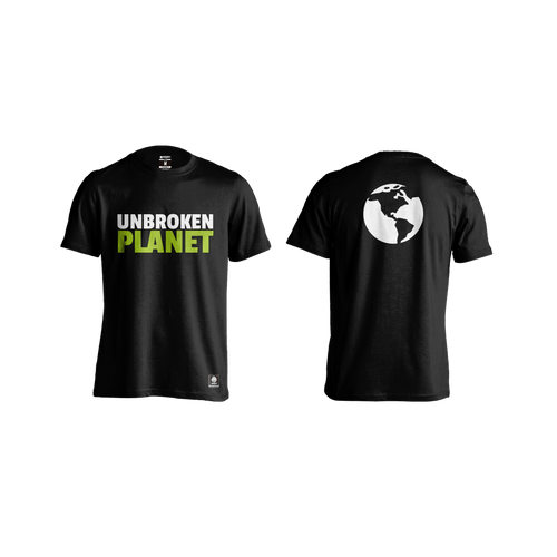 Camiseta Unbroken Planet Black - Unbroken Sports Wear