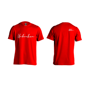 Camiseta Hombre Unbroken Signature Red - Unbroken Sports Wear