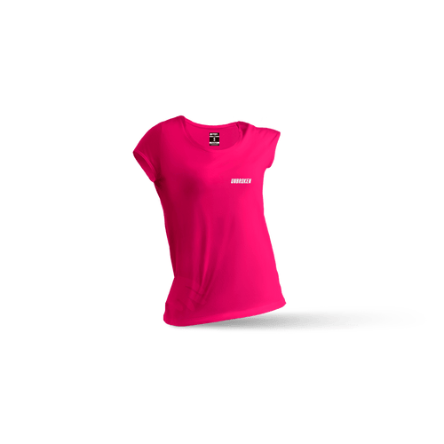 Camiseta Basic Pink mujer - Unbroken Sports Wear