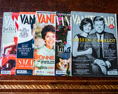Vanity Fair – a Frothy Bouillabaisse of Culture, Reporting and Profiles