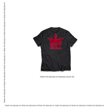 Load image into Gallery viewer, From The Ground Up Original Black Tee