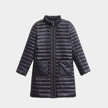 Load image into Gallery viewer, Women's 3/4 Length Down Jacket Coat Black