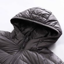 Load image into Gallery viewer, Men's Packable Hooded Down Jacket