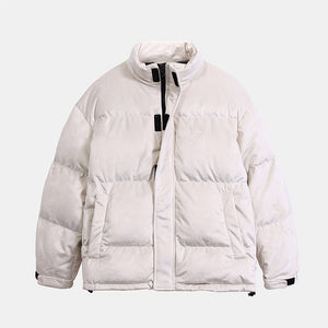 Men's Velvet Down Jacket White