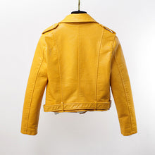 Load image into Gallery viewer, Motorbike Jacket Women Yellow