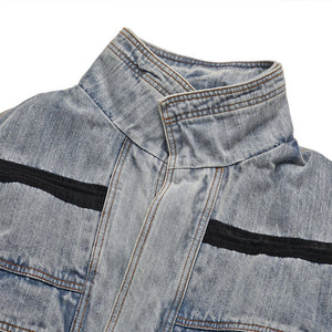 Women's OVER SIZE Loose Vintage Denim Jacket