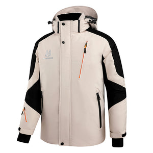Mens Down Spyder Jackets White