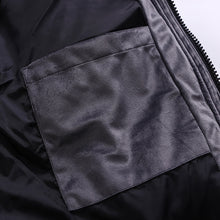 Load image into Gallery viewer, Harajuku Men's Metallic Velvet Down Jacket Carbon Black