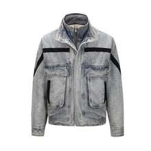 Load image into Gallery viewer, Women's OVER SIZE Loose Vintage Denim Jacket