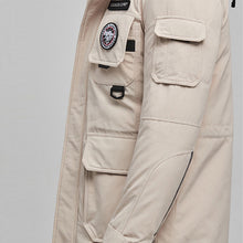 Load image into Gallery viewer, Parka Mens Winter Coats Down Jacket White