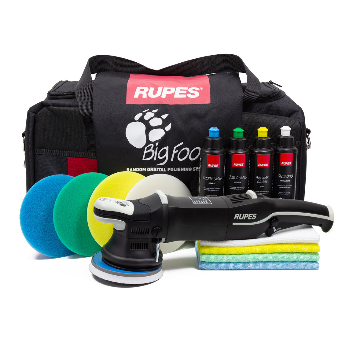 RUPES LHR 15III BigFoot Polisher