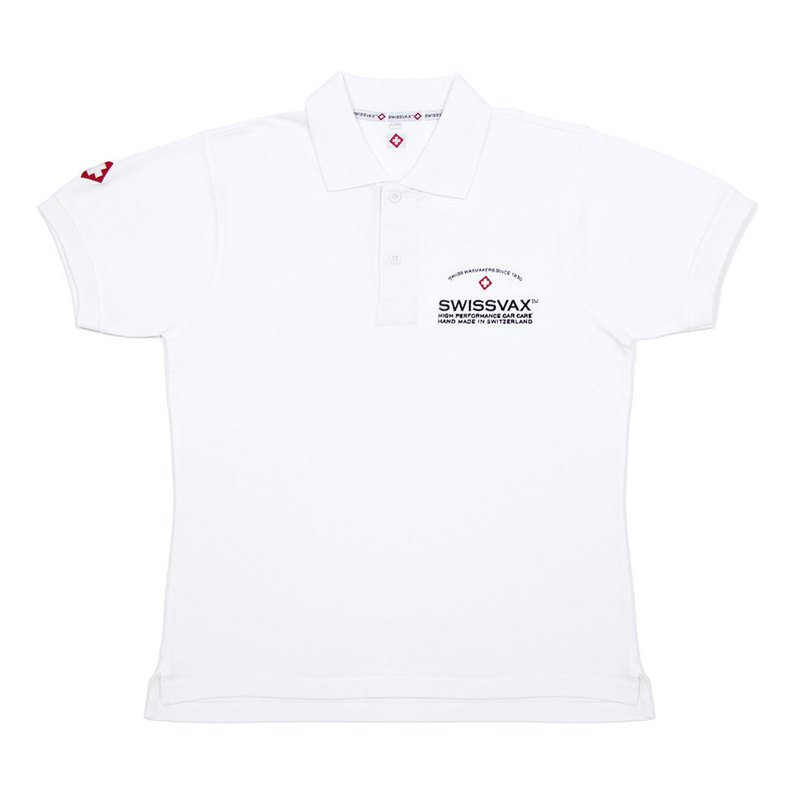 Swissvax Polo Shirt (White)