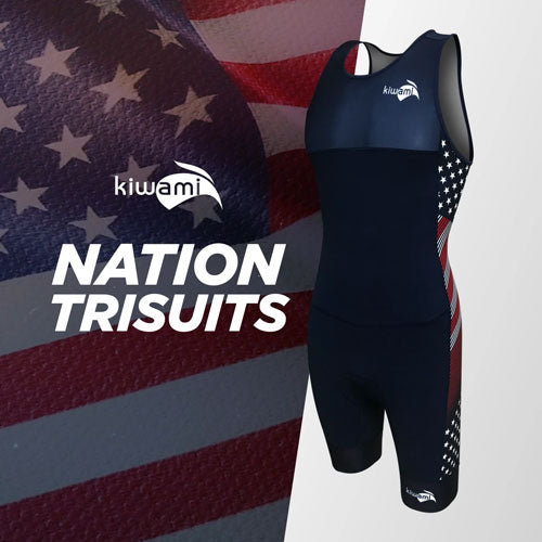 Kiwami Triathlon Nation Trisuit USA