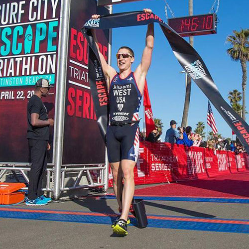 Kiwami Triathlon ITU Jason West