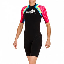 Load image into Gallery viewer, WOMEN'S AQUARUSH SLEEVED SWIMSKIN