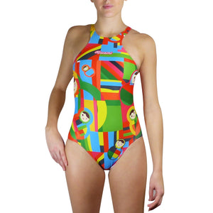 MOANA ONE-PIECE SWIMSUIT