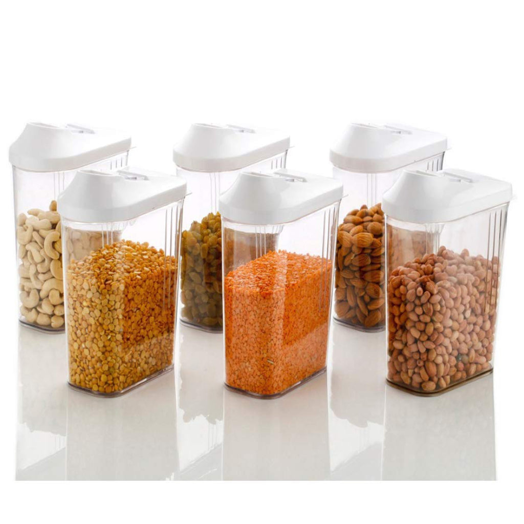 Flow Lid Container ( 6 Pieces )