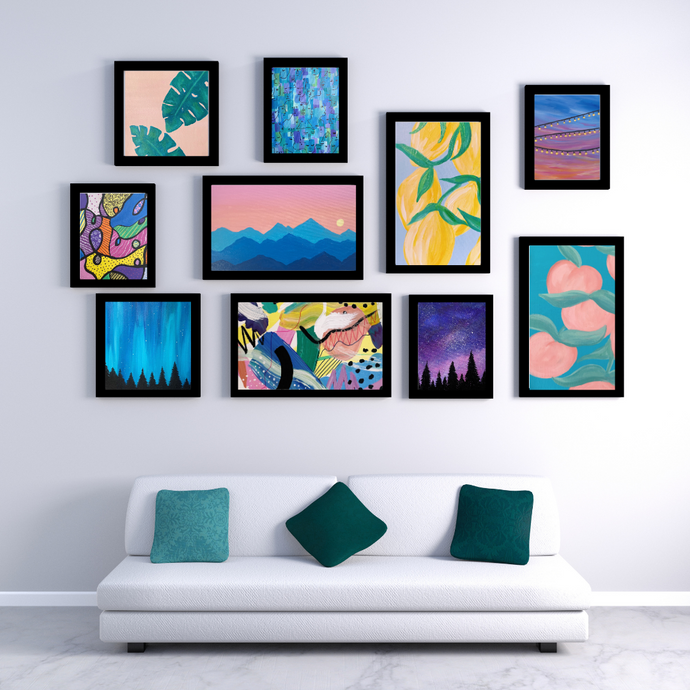 How to Create Your Own Gallery Wall!