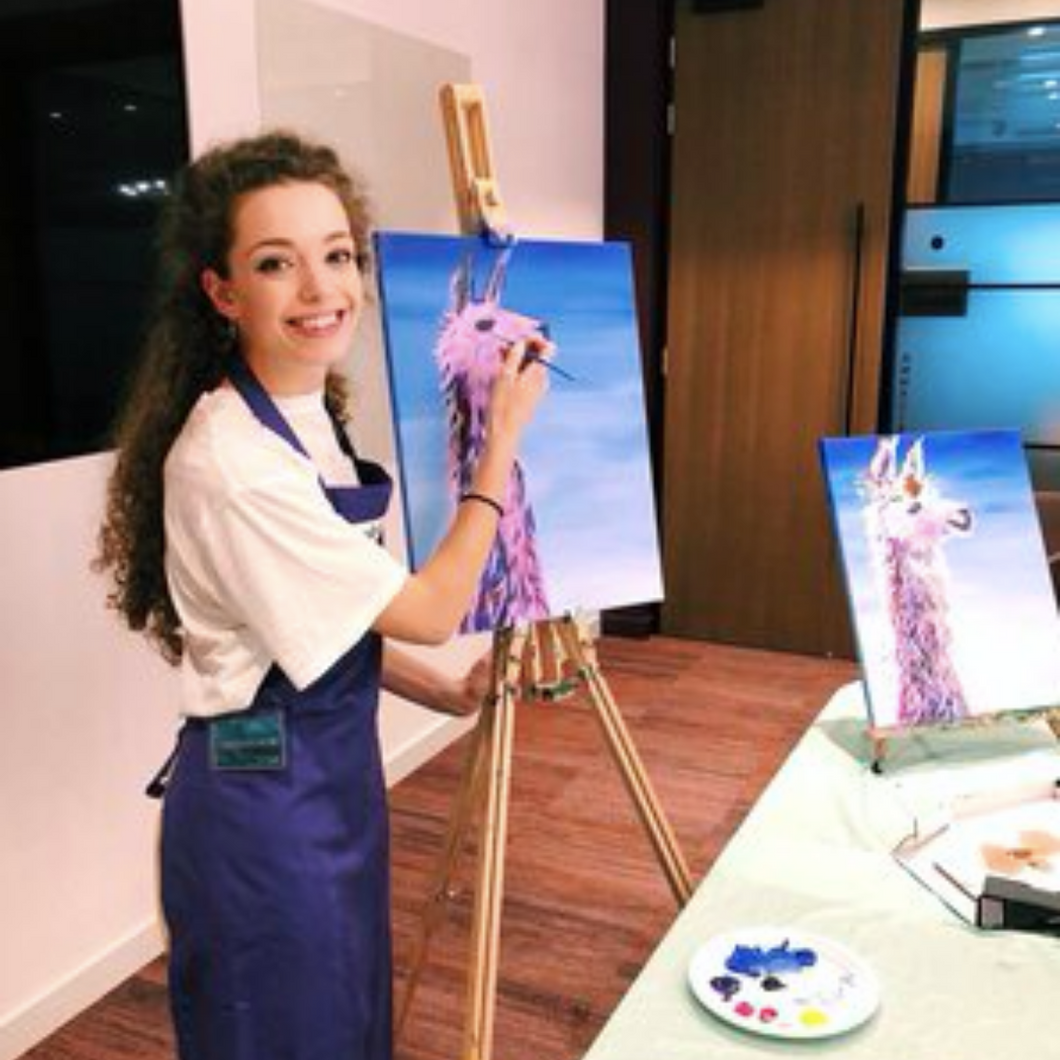 acrylic painting workshops by professional artists