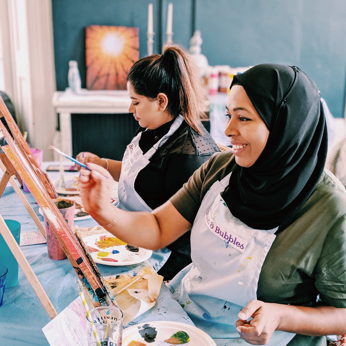 Beginner Friendly Painting Classes