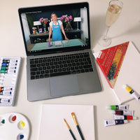 online painting tutorials to do from home