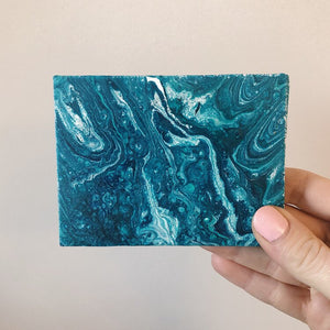 Mini Pour Painting - Turquoise
