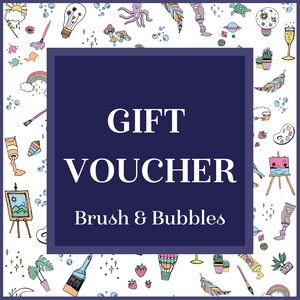 Brush and Bubbles Gift Voucher