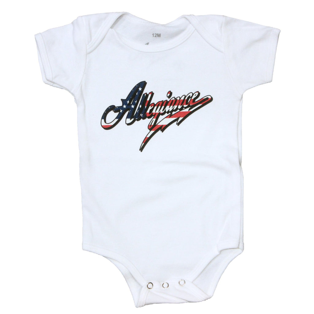 Classic Flag Onsie - Allegiance Clothing - 2