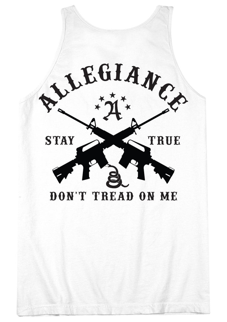 Don't Tread Back Hit Tank Top