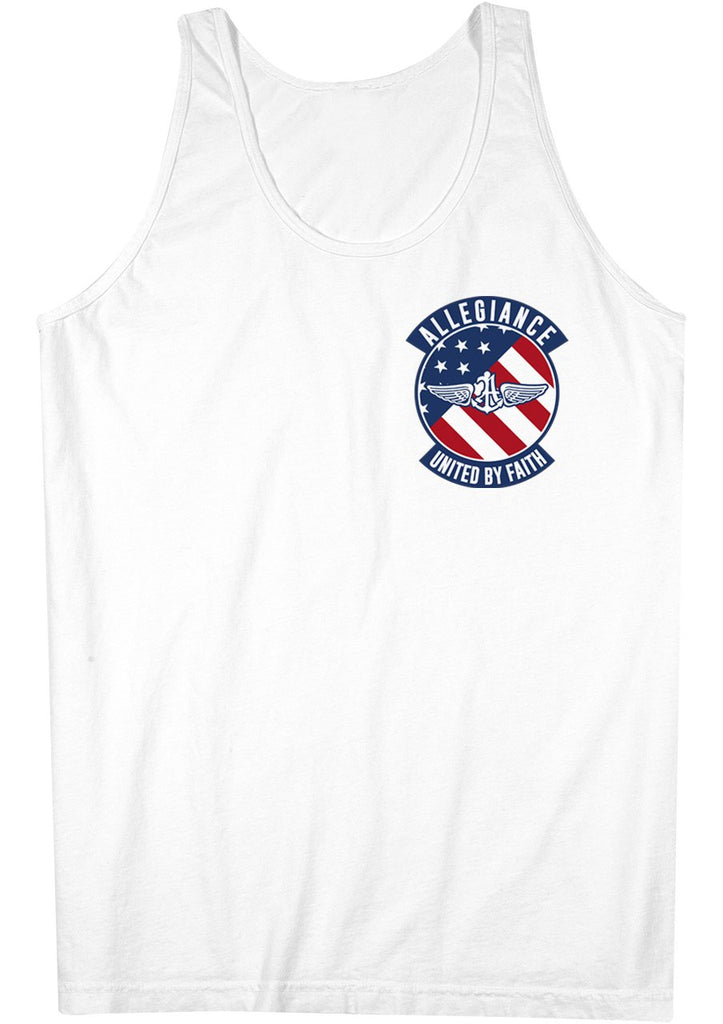 Alle. Flag Badge Tank Top