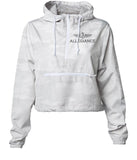 Ateam Women's Crop Windbreaker