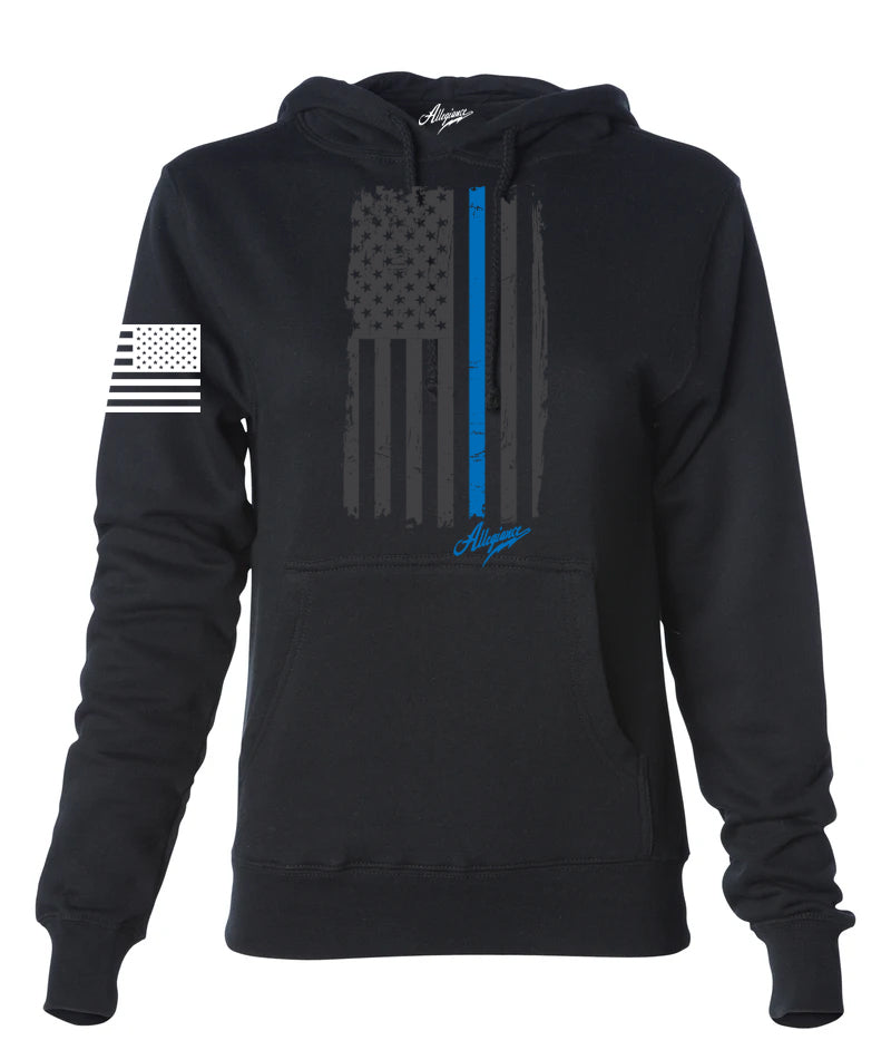 Back the Blue Women's Hoodie