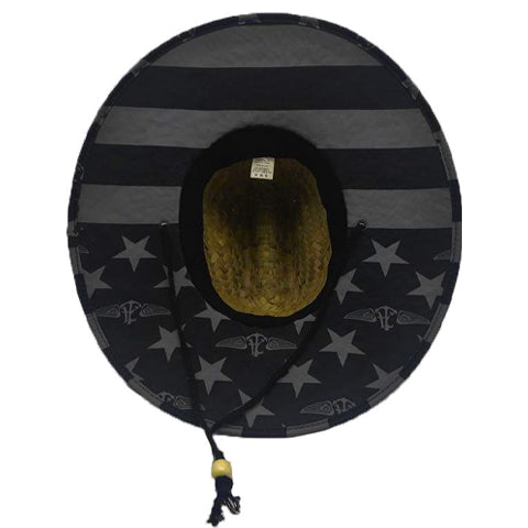 Alle. Glory Stealth Straw Hat