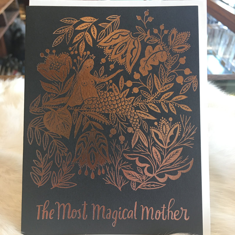 Magical Mother Greeting Card