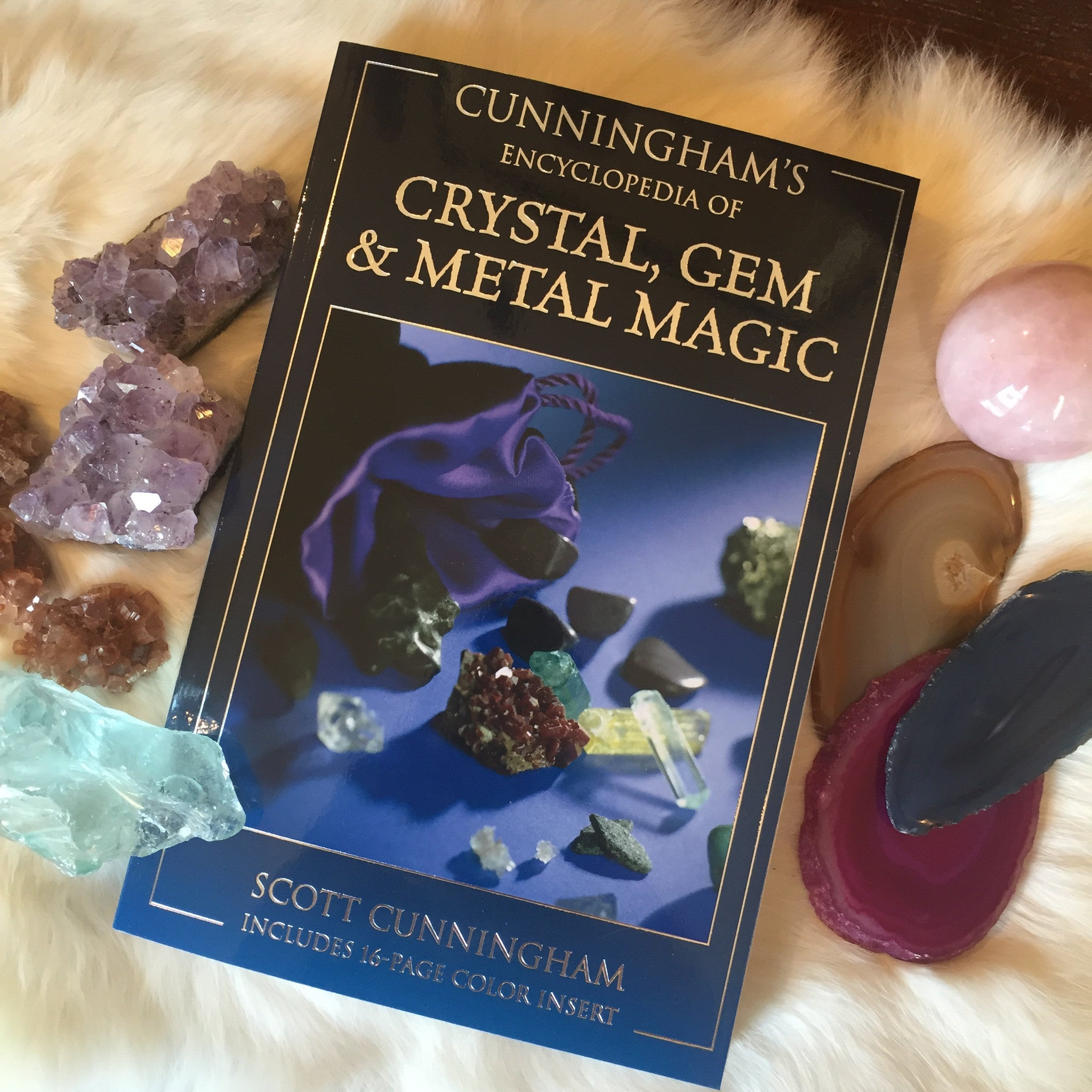 Cunninghams's Encyclopedia of Crystals, Gems, and Metal Magic