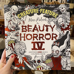 The The Beauty of Horror IV Coloring Book by Alan Robert