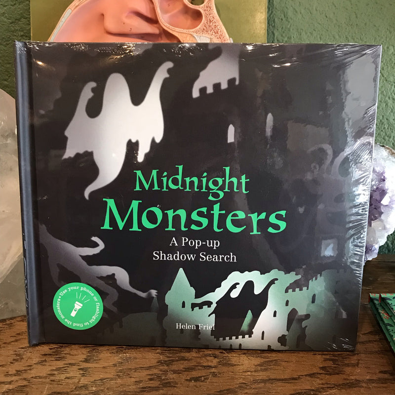 Midnight Monsters: A Pop-Up Shadow Search  by Helen Friel - Curious Nature