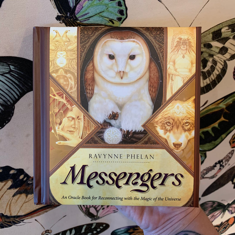 Messengers: An Oracle Book for Reconnecting with the Magic of the Universe by Ravynne Phelan