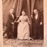 Rare Genuine Antique Count Magri Family Photograph Circa 1885