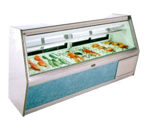 Fish Display Case Deli Refrigerated MFC4SC $3500 - Tamirson
