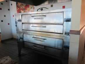 Pizza Oven Bakers pride Y602 pre owned used - Tamirson