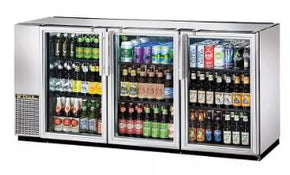 Back Bar 3 Glass Door Cooler Stainless Steel $2995 - Tamirson