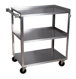 Utility Cart Stainless Steel 3 Tier 18x27x43 - Tamirson